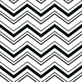 AB2150 - Ashford House Black & White Chevron Wallpaper in Black and White