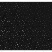 AB2162 - Ashford House Black & White Dots Wallpaper in Black