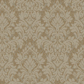 Texture Graystone Estate Raised Layered Damask HD6924 Beige Wallpaper