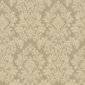 Texture Graystone Estate Raised Layered Damask HD6925 Umber Wallpaper