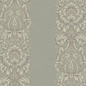 Texture Graystone Estate Stripe Damask HD6940 Purple-Silver Grey Wallpaper