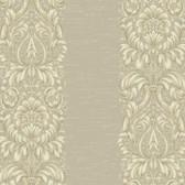 Texture Graystone Estate Stripe Damask HD6941 Silver-Green Wallpaper