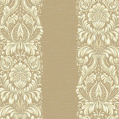 Texture Graystone Estate Stripe Damask HD6942 Beige-Cream Wallpaper