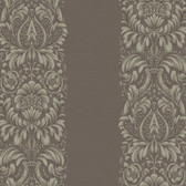 Texture Graystone Estate Stripe Damask HD6946 Brown-Green Wallpaper