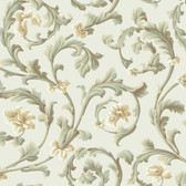 Texture Graystone Estate Grand Hunt Scroll HD6967 Cream Wallpaper