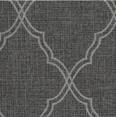 COD0413 - Candice Olson Luxury Finishes Romance Black Wallpaper