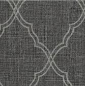COD0413 - Candice Olson Luxury Finishes Romance Black Wallpaper