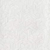 COD0201- Candice Olson Luxury Finishes Metallica White Wallpaper