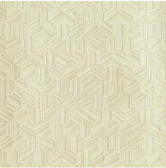 COD0204 - Candice Olson Luxury Finishes Metallica Buttermilk Yellow Wallpaper