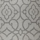 Shimmering Details DE8824 Grillwork Mica Silver-Grey Wallpaper