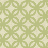 Olive GM1209 Overlapping Circles Wallpaper