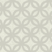 Grey GM1213 Overlapping Circles Wallpaper