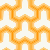 Yellow GM1241 Faux Puzzle Wallpaper