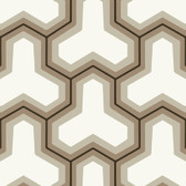 Grey GM1243 Faux Puzzle Wallpaper