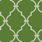 Olive GM1274 Curvilinear Faux Ironworks Wallpaper