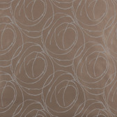 Taupe GM1282 Doodled Abstract Circles Wallpaper