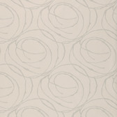 ND1200GM Soft Pink Doodled Abstract Circles Wallpaper