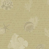 Kitchen & Bath Oceanic Khaki Wallpaper KH7002
