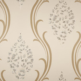 Cream NA0235 Cluster of Flowers Wallpaper