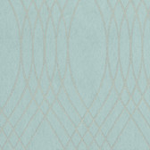 Soft Teal NA0251 Overlapping Lines Wallpaper
