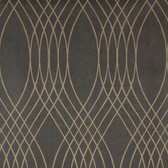Charcoal NA0253 Overlapping Lines Wallpaper