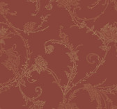 Burgundy AN2766 Gracile Wallpaper