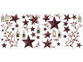 Border Book Country Stars & Berries Appliques RMK1276SCS Decal