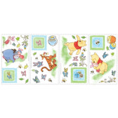 Border Book Winnie The Pooh Toddler Decals - RMK1630SCS