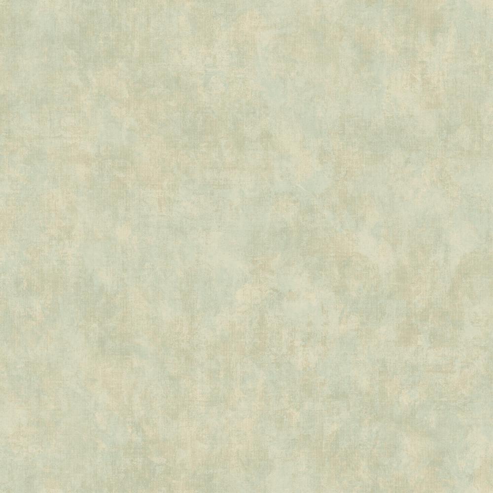 Kitchen Bath Vintage Scroll Texture Celadon Green Wallpaper Kh7125