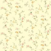 Kitchen & BathDocument Vine Orange-Yellow Wallpaper SM8584