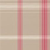 DL30473 - Accents Oskar Taupe Plaid Wallpaper