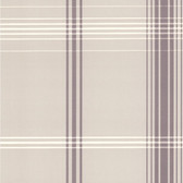DL30477 - Accents Oskar Light Grey Plaid Wallpaper