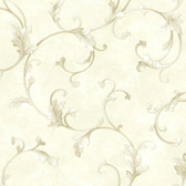 ARB67513 Arbor Rose Voluta Acanthus Scroll Chiffon Wallpaper