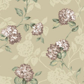 ARB67554 Arbor Rose Floral Trail Mauve Wallpaper