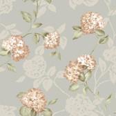 ARB67555 Arbor Rose Floral Trail Rosewood Wallpaper