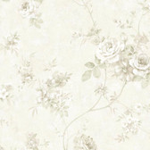 ARB67506 Arbor Rose Floral Chiffon Wallpaper