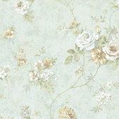 ARB67507 Arbor Rose Floral Arctic Wallpaper