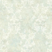 ARB67572 Arbor Rose Bentley Damask Pistachio Wallpaper