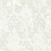 ARB67573 Arbor Rose Bentley Damask Frost Wallpaper