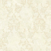 ARB67576 Arbor Rose Bentley Damask Cream Wallpaper