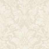 AL13651 Cynthia Grey Distressed Damask Wallpaper