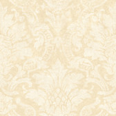 AL13652 Cynthia Rose Distressed Damask Wallpaper
