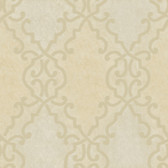 AL13682 Bernaud Beige Persian Diamond Wallpaper