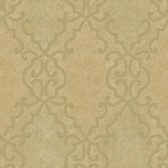 AL13686 Bernaud Gold Persian Diamond Wallpaper