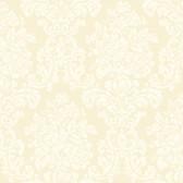 Illume Damask Cream Wallpaper AL13701