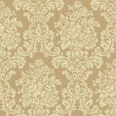 AL13704 Illume Gold Damask Wallpaper