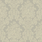 AL13707 Illume Blue Damask Wallpaper
