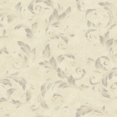 AL13713 Edith Mauve Acanthus Brushstroke Wallpaper
