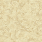 AL13717 Edith Gold Acanthus Brushstroke Wallpaper