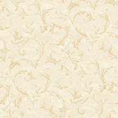 AL13761 Vlad Cream Acanthus Vine Wallpaper